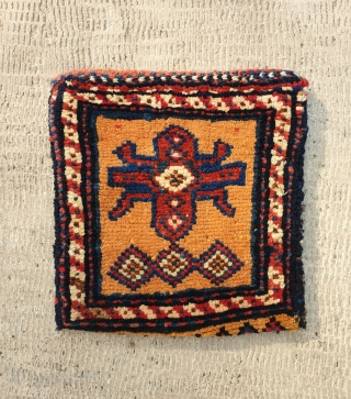 Double faced charming chanteh,from nasrabadi tribe (qashqai) 