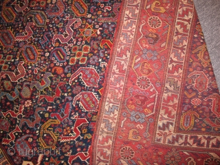 Ref 1511 Khamseh tribal rug. Before 1900. 6'1 x 4'0 - 185 x 123. Natural dyes, excellent condition