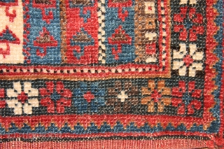 Antique Afshar salt bag.  All natural dyes and in good condition. Circa 1890