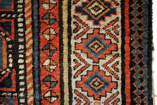 Antique Gendje or Moghan, Caucasus. 420 x 110 Cm. 14 ft.x 3.6 ft.