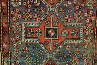 Kazak, 165 x 120 Cm., 5.5 ft. x 4 ft. 