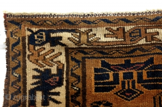 Koerdish Kazak, '30, with swastica's in the border. 
