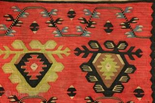 Sarkoy kilim, Bulgaria, ca 1890, 156 x 83 Cm.