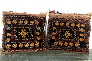 3 pillows/bags, 1 set Koerdish and 1 Beloudj. 
