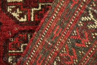 Beshir prayer rug, dated 1234 = 1819.  90 x 113 Cm.