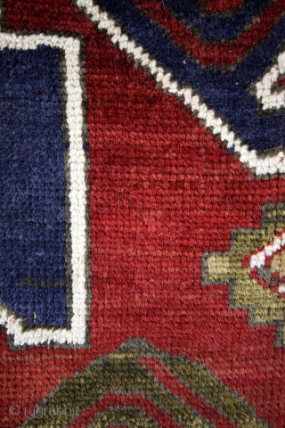 KAZAK, Lori Pampak, dated 1917. Signed MUSTAFA.  High pile, thick, great wool. Original sides and headings.  148 x 290 Cm's. 5 feet x 9 feet 8 inch.
