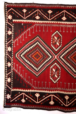 Armenian kilim, dated 1912. 