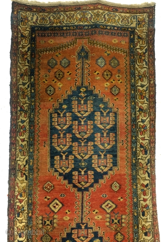 Kurdish carpet, Kelardasht, Hamadan area, 300 x 120 Cm. 