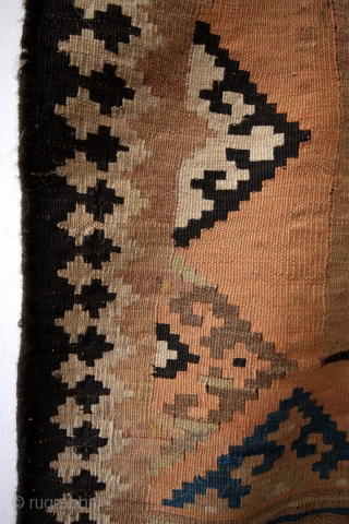 Luri Qashqai kilim, antique, 275 x 143 Cms. 9 ft. 3 in. x 5 ft. 