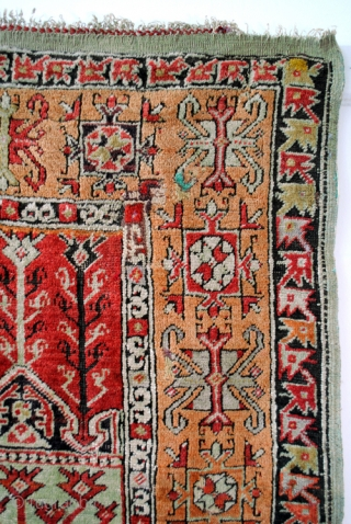 Antique Konya Prayer rug, Anatolia. 