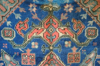 Ushak, west Anatolia, 357 x 277 Cm.  12 ft. x 9.2 ft. Wool on wool.  Old, Unrestored, as is, 19th century replica of a 17th century rug.  Last photo is the Chastleton-ushak  ...