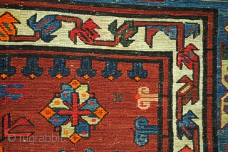 Oversized antique Soumach, 320 cm.x 500 cm.   16.6 feet x 10.6 feet. 