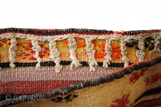 Soumac bag. and kilim back. Shasavan. 