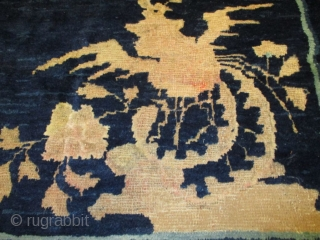 #7328 Antique Peking Chinese Rug 6'4″ X 8'5″