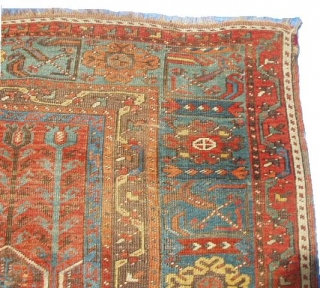 #5988 Ladik Antique Turkish Prayer Rug