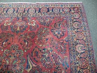 American Sarouk 240 x 340 cm, decorative, in good condition