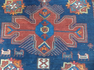 Karabagh 274 x 161 cm, excellent condition,good pile, some synthetic color