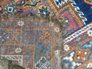 Fine Afshar 191 x 159 cm , Soft with lovely shiny wool