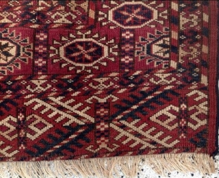 Bokhara size: 102 x 96 cm, good condition