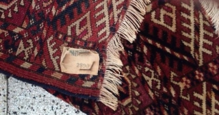 Bokhara size: 102 x 96 cm, good condition