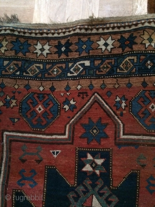 Caucasian, All natural dyes, in good condition 