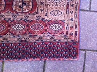 Bukhara rug, size: 256 x 167 cm, in great condtion, beuatiful piece