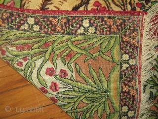 Antique Lavar Kerman.  Size 2'x2'8''.  Mint condition.