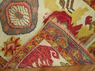 Antique Yastik Size 1'11''x3'2''.  Original kilim endings that are loose.  Other than that mint condition.