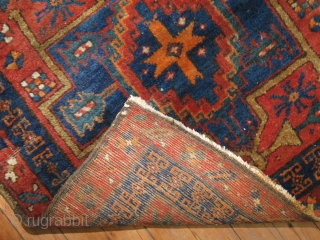 Antique Tribal Heriz 2'5''x2'7''.  Excellent condition