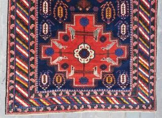Caucassian Khila shirvan carpet all original , very nice colors and excellent condition size 2,98x1,55 cm Circa 1900 to 1910