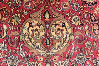 Antique Khorasan carpet wonderful colors and excellent condition all original size 3,50 x 2,30 cm  Circa 1900