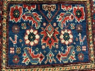 Shahsevan bagfase  Circa 1910  60x60cm wool on cotton