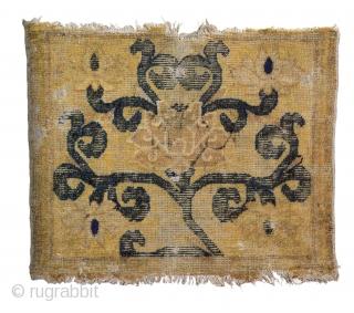 Ming Lotus seating square, 15th Century 84cms x 70cms.