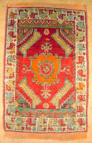 Anatolian yastik, Sivas area c:a 1900