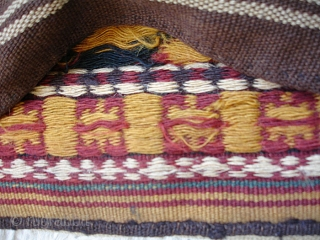 Khorrasan Kurd half saddlebag. 62 x 58 cm.