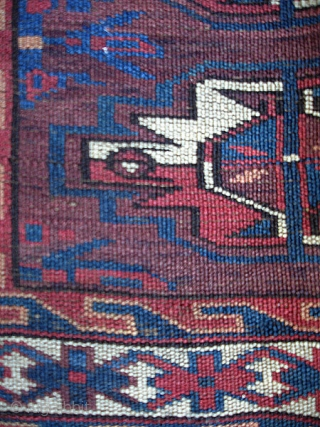 Yomud cuval face 65 x 112 cm