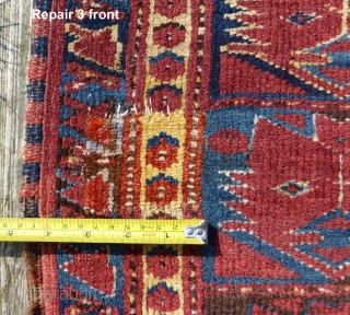 Ersari Beshir rug 19th cent. 