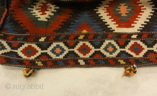 Antique Mafrash Caucasian - Size: 20H x 20D x 41L