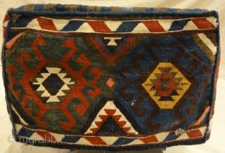 Tribal Mafrash Caucasian - Size: 16H x 23D x 46L