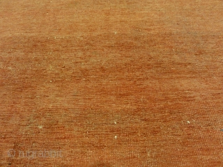 "Antique Ziegler Sultanabad Rare Meditation Piece Genuine Woven Carpet Art  3'8"" x 7'6"""