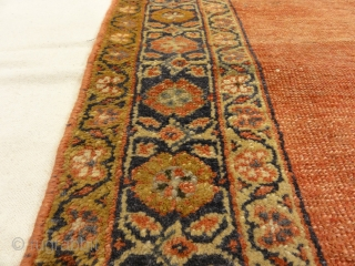 Antique Ziegler Sultanabad Rare Meditation Piece Genuine Woven Carpet Art