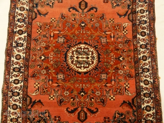 Antique Persian Josan Mint Condition Genuine Authentic Woven Carpet