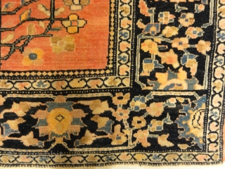 """Unique Exemplary Sarouk Farahan Finest of its Kind - Size: 3'2"""" x 4'10"""""""