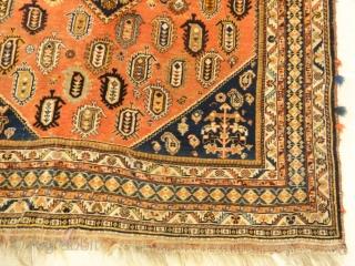 "Antique Qashqai - Size: 3'7"" x 5'"