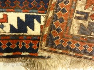 Caucasian Kazak Prayer Rug - Size: 5'9″ x 7'1″