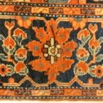 """Antique Persian Sarouk Farahan - Size: 3'4"""" x 4'11"""""""