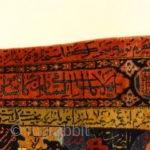 "Antique Sultan's Head Silk Meditation Rug Garden Of Paradise - Size: 3'4"" x 5'6"""