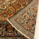 "Antique 19th Century Village Persian Sarouk Farahan - Size: 4' x 6'2"""