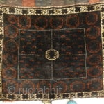 "Antique Persian Beluch Complete Saddle Bag - Size: 2'9"" x 5'9"""