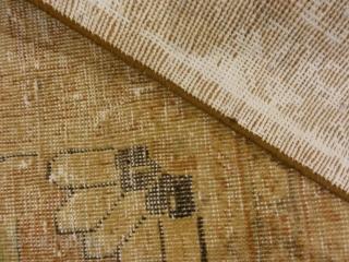 "Beautiful Antique Beige Persian Tabriz Rug  7'1"" x 9'7"""
